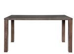 Holztisch (breiter Fuß)