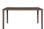 Holztisch (schmaler Fuß)